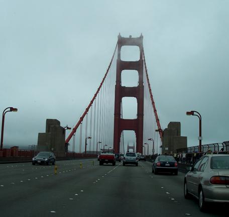 Post Card From San Francisco 1 Driving Across The Golden Gate Bridge Jorge Luis Somarriba Blog