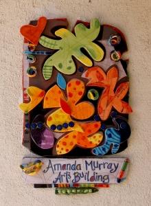 A Murray plaque